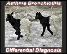 differential diagnosis of asthma