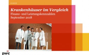 Benchmark of German Hospitals September 2018 (in German)