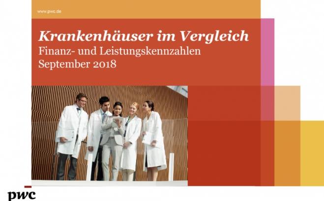 Benchmark of German Hospitals September 2018 (in German)