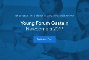 YFG 2019 Internathional Scholarship Applications