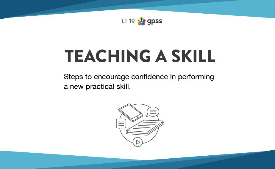 LT 19 - Teaching a skill 1