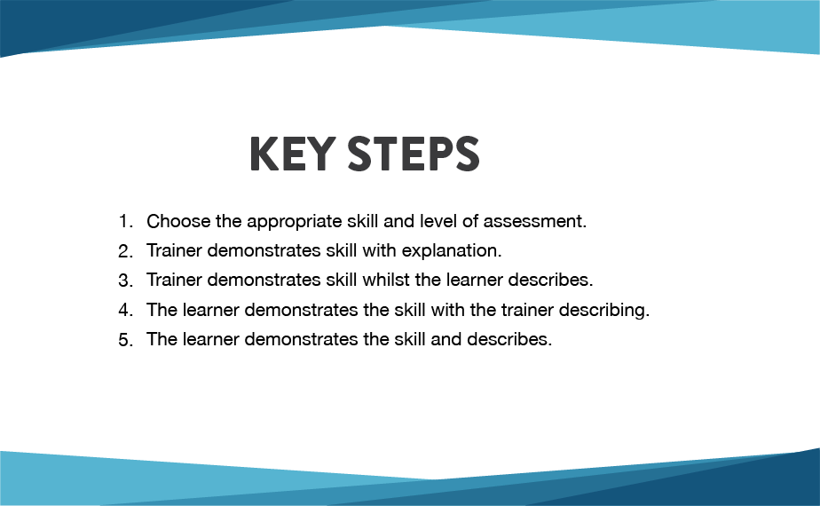 LT 19 - Teaching a skill 2