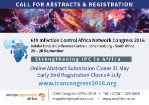 Register now for the ICAN congress – the premier infection control meeting in Africa