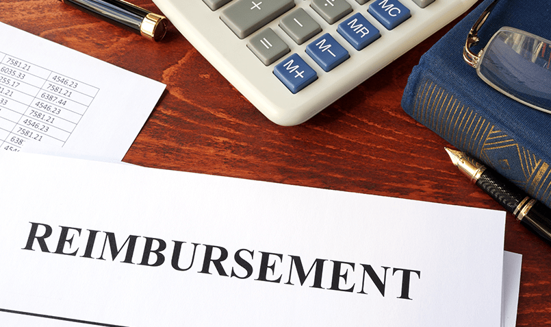 A reimbursement statement that practices receive every month without having to do anything.