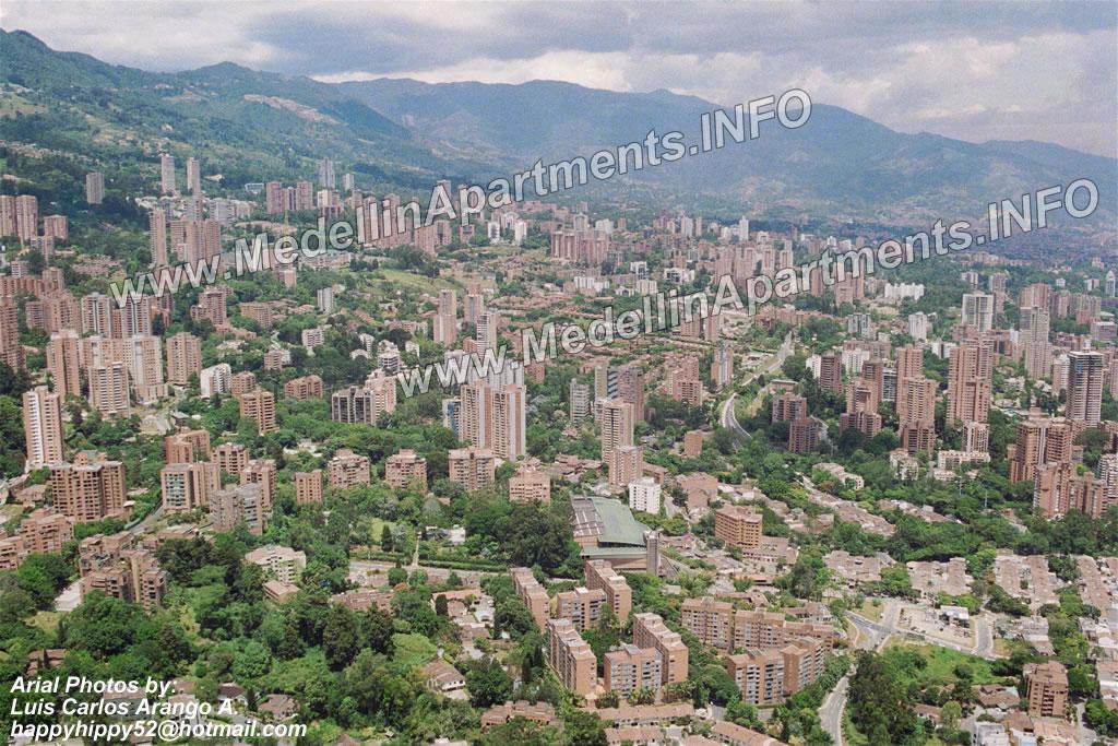 Medellin Apartments  El Poblado Photo of Calle 10 Vizcaya