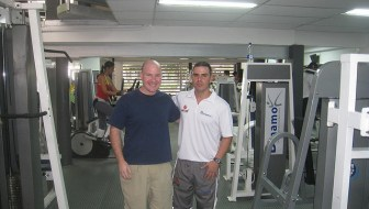 Photo of the Week – Me and My Personal Trainer