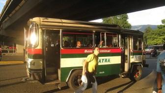 Buses in Medellin