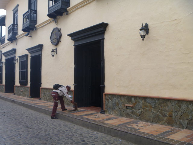 The beautiful streets of Santa Fe de Antioquia.