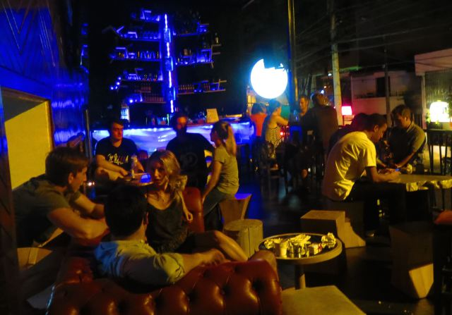 If you're staying at Happy Buddha Boutique Hostel, you can enjoy the adjoining Tree Bar as well.