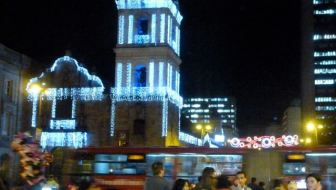 Christmas in Bogota: Big Trees, Mongolian Food, and Catedral de Sal