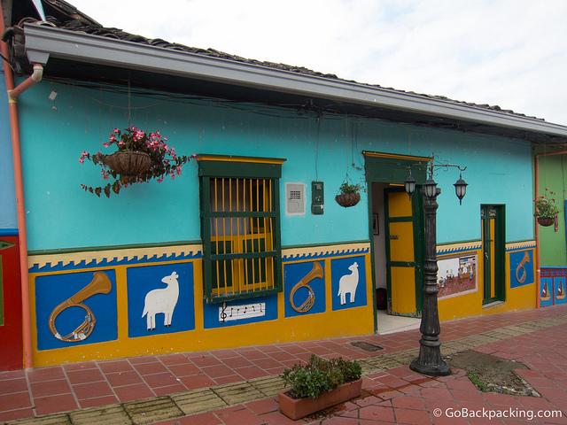 Colorful Guatape