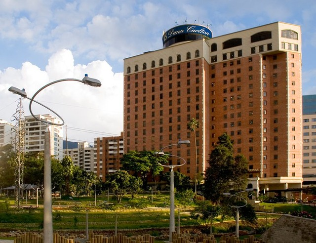 The Dann Carlton is one of the most well-known hotels in Medellin.