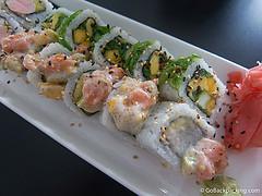 Sushi at Sushi House