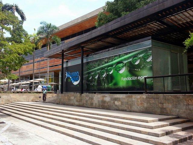 Museo del Agua entrance