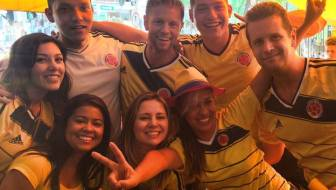 Colombia Advances to World Cup Second Round