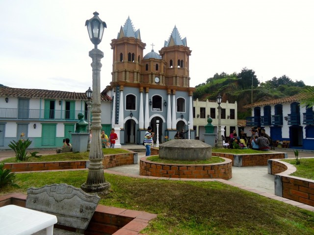 A replica of Old Peñol