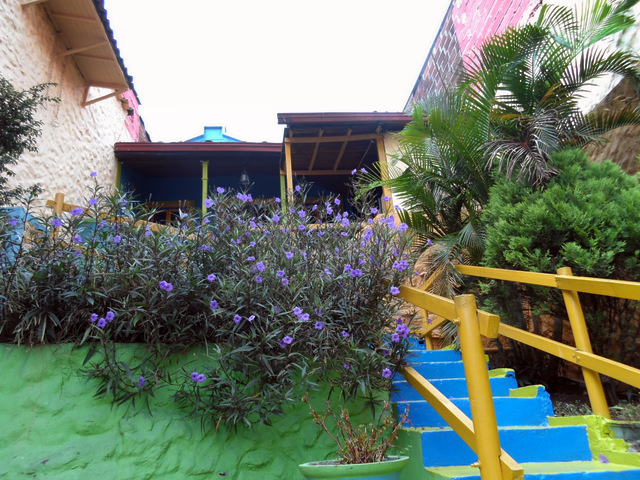 The colorful Casa Gardeliana