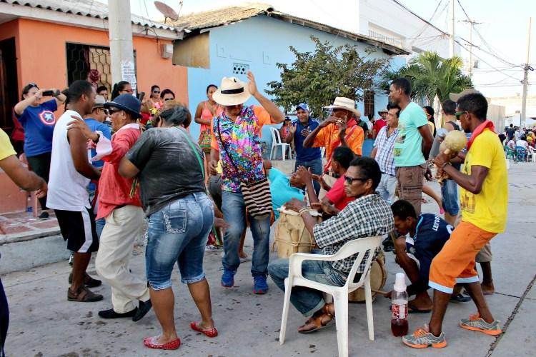 Street party at Carnaval de Barranquilla