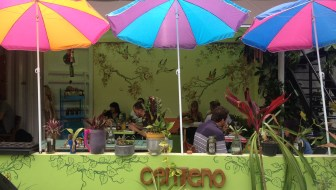 Centeno: A Colorful Vegetarian Restaurant