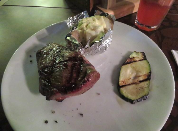 The Sterling steak at Villero