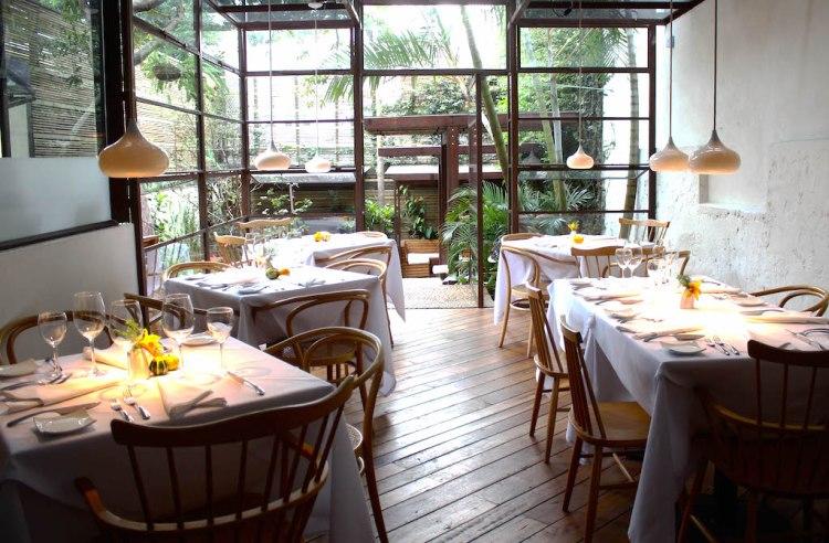 Inside Carmen Restaurant