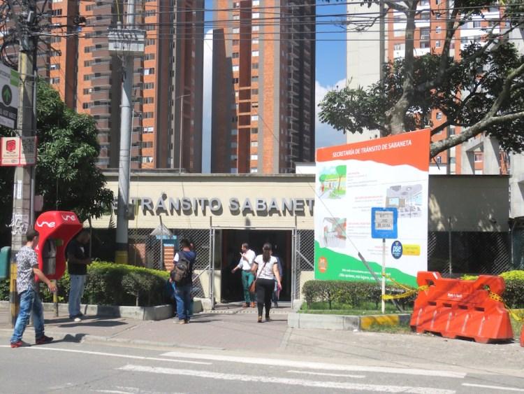 Secretaría de Tránsito in Sabaneta