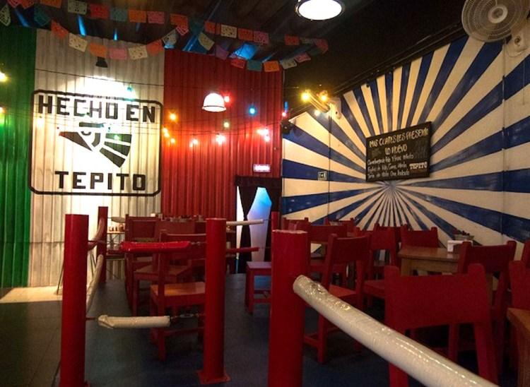 Inside Tepito Tacos y Tequilla