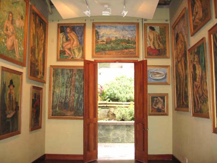 Inside Pedro Nel Gomez House Museum, photo by Chuli Pichuli