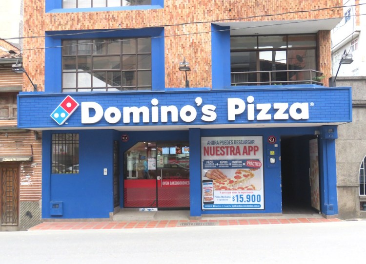 The newest Domino's Pizza in Sabaneta