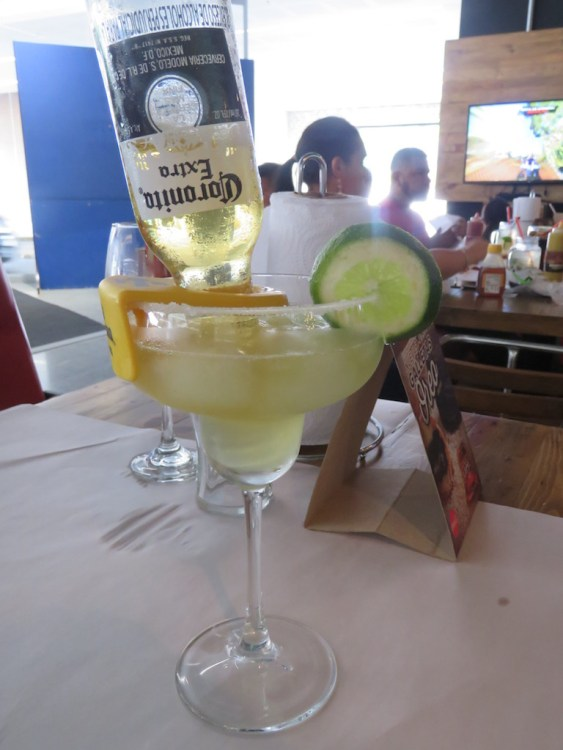 Corona Margarita at Sport Wings