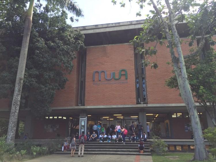 Entrance to MUUA