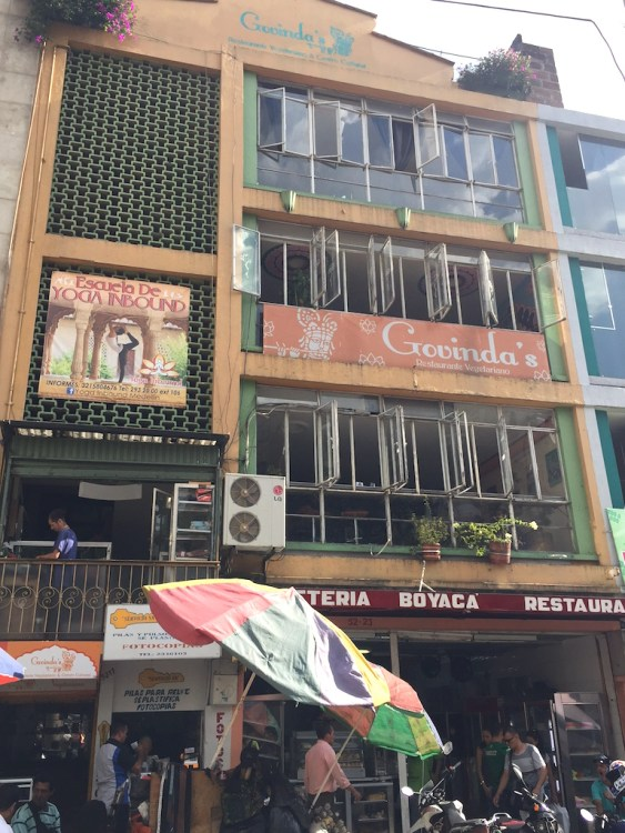 Govinda's, Medellín's oldest vegetarian restaurant