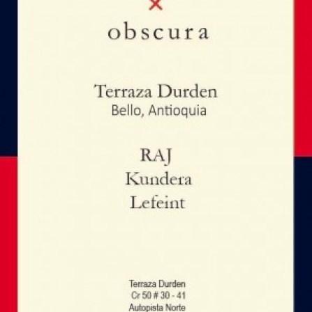 Obscura Crew @ Durden