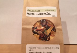 Apple Tea from Medel Orchards Retail Stand in Ruthven Ontario