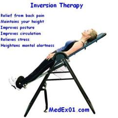 Hanging Upside Down Chair For Back Antique Wicker Rocking Hang Medical Supplies Knowledge Base Inversion Therapy Is A Method Of Treating Pain By Diminishing The Influence Gravity Reducing Compression Vertebrae And Discs