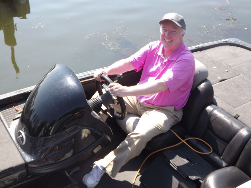 Mayor McGlynn Welcomes World Wide Bass Fishing Tournament