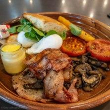 Anzac day breakfast. Big breakfast from Ricrado's Cafe and Patisserie.