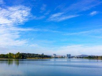 Clouds of Lake Ginninderra