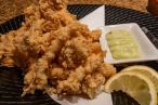 Tuesday dinner. Fried calamari.