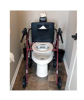 Free2Go Rollator - Portable Bathroom Safety