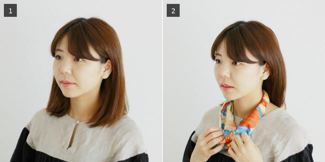 髮帶怎麼綁?鬆緊髮帶用法。短髮・中長髮與馬尾的2018髮帶教學 | Creema 手作・設計購物網站
