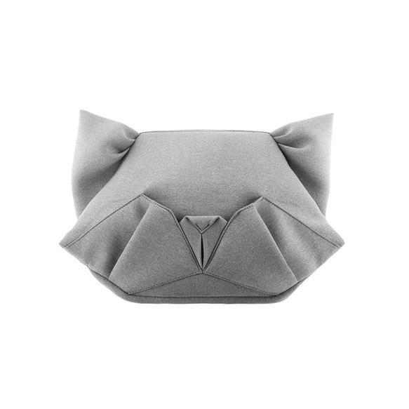 ORIBAGU 摺紙包_灰貓 側/後兩用包 斜背包・側背包・肩背包 ORIBAGU 的作品|Creemaー來自日本的手作・設計購物網站