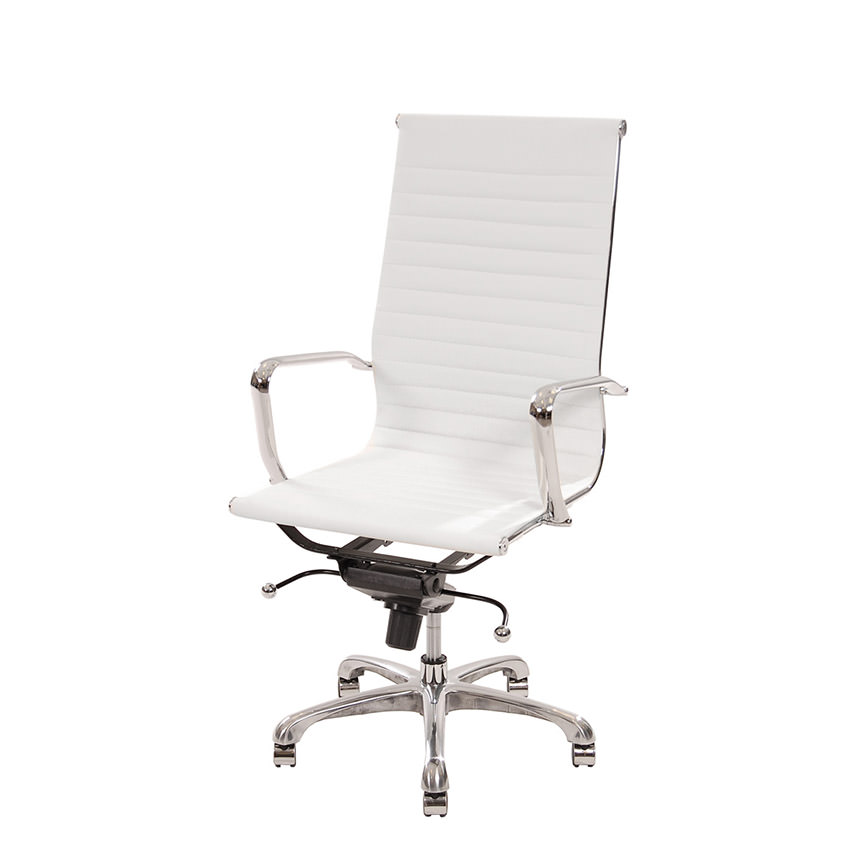 dorado office chair white wooden ikea watson high back desk el furniture main image 1 of 6 images