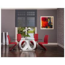 Swhite Rectangular Dining Table El Dorado Furniture