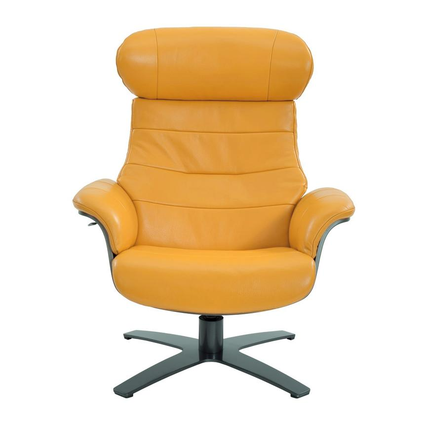 Furniture is an essential part of any home, but it sure isn't cheap. Enzo Yellow Leather Swivel Chair   El Dorado Furniture