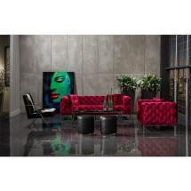 Crandon Red Sofa El Dorado Furniture