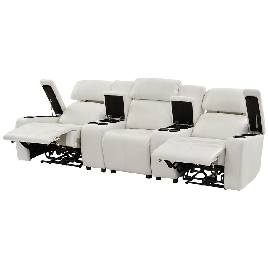 2 seat theater chairs lowes adirondack chair plans magnetron white home seating el dorado furniture alternate image of 10 images