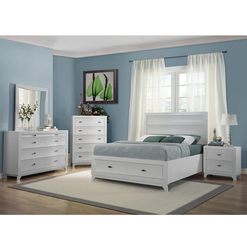 Whiteaker 4Piece Queen Bedroom Set  El Dorado Furniture