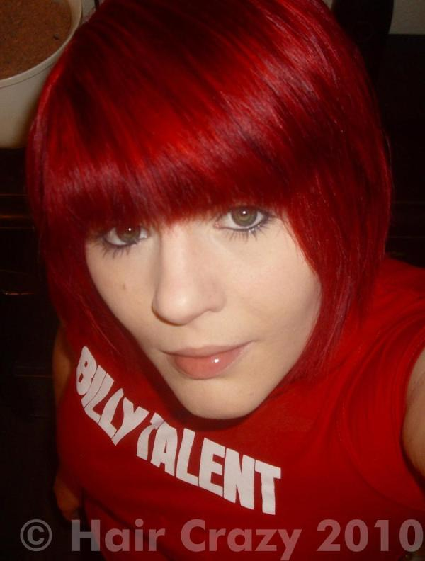 Poppy Red Hair Color