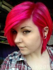 special effects atomic pink hair